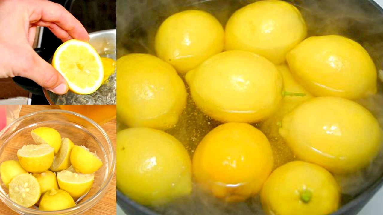 Boil Lemons To Prepare Lemon Water & Get All the Benefits