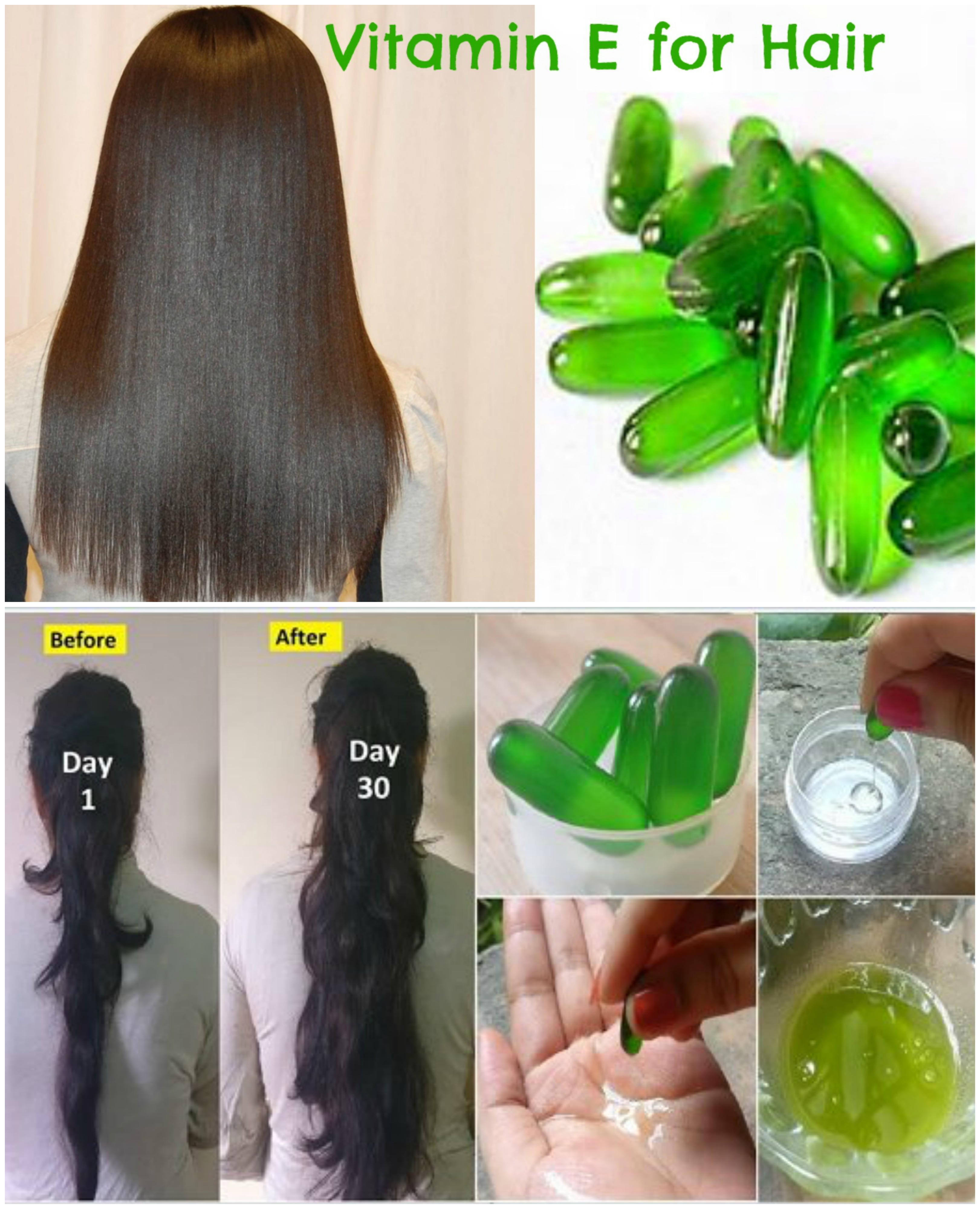 benefits of vitamin for skin and hair