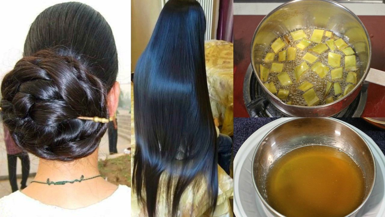 How To Make Hair Oil At Home For Black Hair